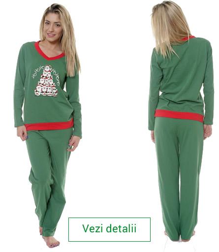 pijamale verzi