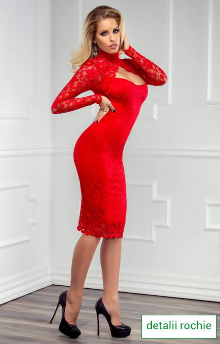 rochie de Revelion cu dantela