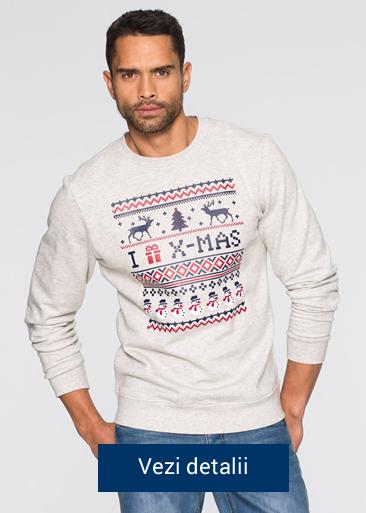 bluza pentru barbati cu model de Craciun