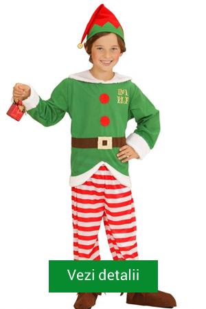 costum elf copii