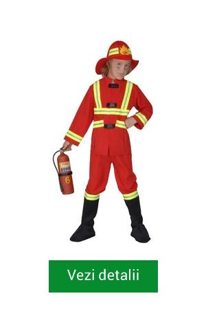 costum de pompier copii