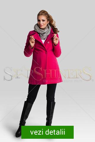 palton roz pentru gravide