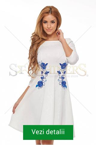 rochii de Craciun albe