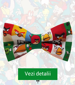 Papion cu Angry Birds