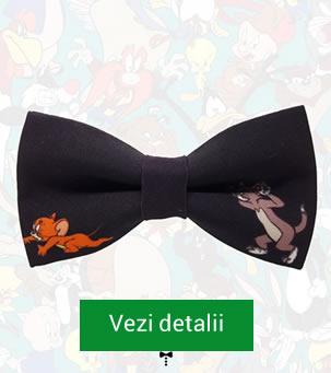 Papion negru cu Tom si Jerry