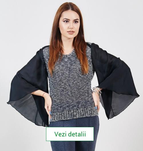 Pulover tricotat Carmen Grigoriu Ina