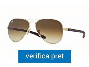 Ochelari de soare Aviator Carbon Fibre Ray-Ban RB8307 112-85