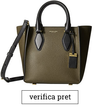 Geanta Michael Kors Gracie Small Tote Grained French Calf
