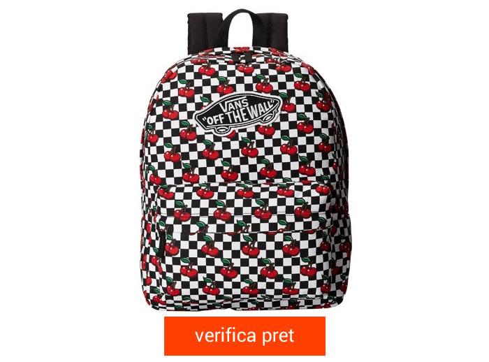 Rucsac Vans Culoarea Cherry Checkers