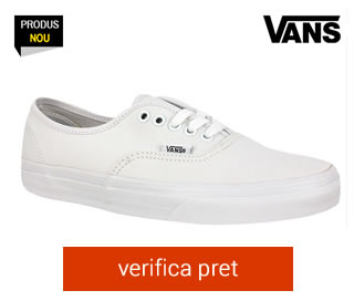 Tenisi albi Vans Authentic