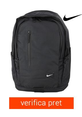 ghiozdan negru Nike pentru fete si baieti