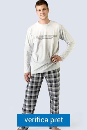 pijama de barbati 100 bumbac