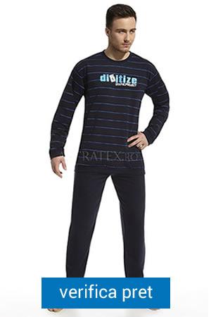 pijama de barbati cu model in dungi