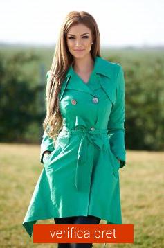 trenci de dama verde
