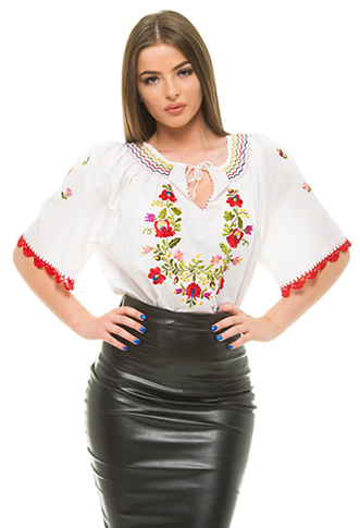Bluza tip ie traditionala romaneasca