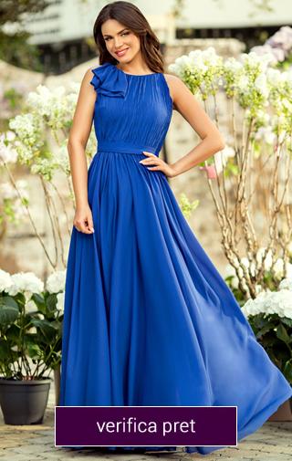 rochie de nasa albastra