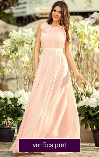 rochie de nasa roz pal