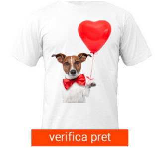 Tricou Dog In Love