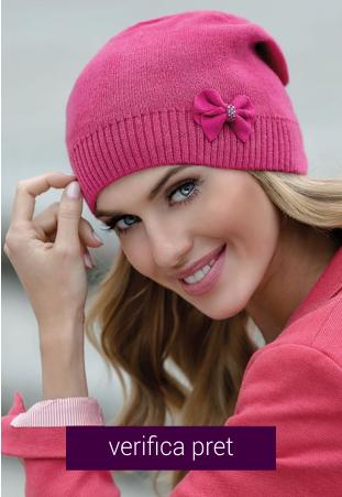 Caciula de dama roz