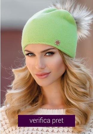 Caciula de dama verde