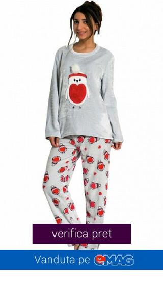 Pijama Dama Foarte Calduroasa
