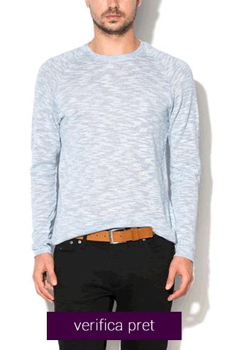 Bluza lejera bleu melange