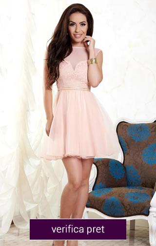 rochie scurta domnisoare de onoare