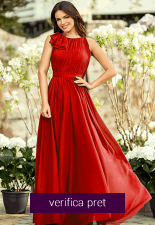 Rochie lunga verona rosie