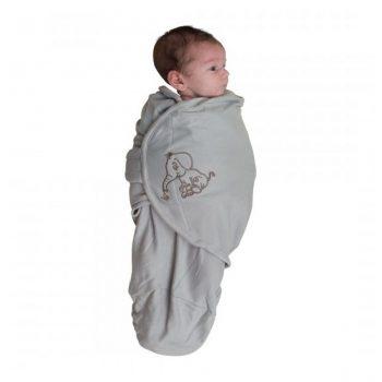 body-special-tip-wrap-bo-jungle-elefant-gri-pentru-bebelusi-marime-s-3-6kg-din-bumbac