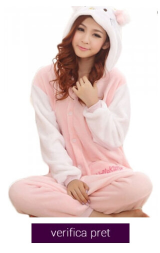 pijama hello kitty roz