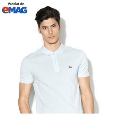 tricouri lacoste original alb