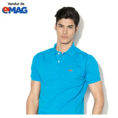 tricouri lacoste original albastru inchis