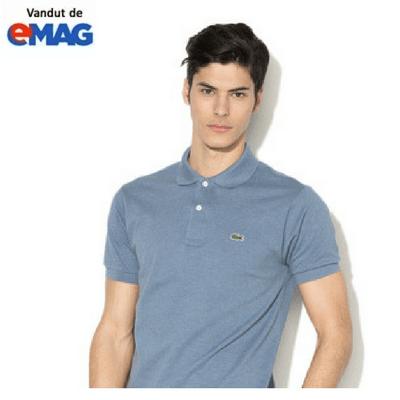 tricouri lacoste original albastru prafuit