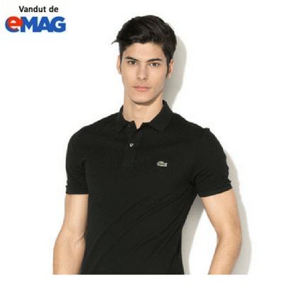 tricouri lacoste original negru