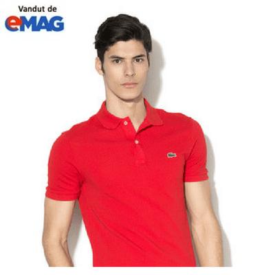 tricouri lacoste original rosu