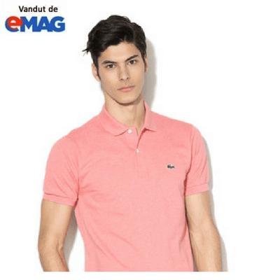tricouri lacoste original roz